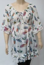 YOEK,DUTCH DESIGNER.MEDIUM 100% SILKY POLYESTER TUNIC OR SHORT DRESS.