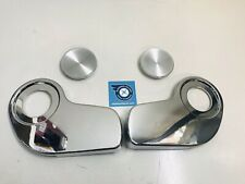 XA LATE FORD FALCON CHROME BUCKET SEAT RECLINER SIDE COVERS SET COUPE SEDAN NEW
