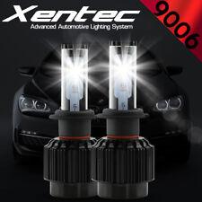 XENTEC LED HID Headlight kit 388W 38800LM 9006 6000K 1998-2004 Chrysler 300M