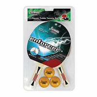 Formula Enforcer 2 Player Table Tennis Ping Pong Set 2 Bats 3 Balls 1 Star VALUE