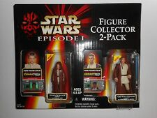 Star Wars Figure Collector 2-Pack Episode I Anakin Skywalker Obi Wan Kenobi NIB