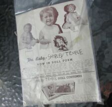 Shirley Temple Baby Doll Ad Original 1935 Photo Giveaway Rare Compo Dolls