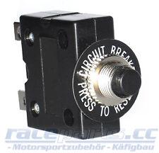 Sicherungsautomat 12V, 10 Ampere, Druckknopf Circuit breaker, raceparts cc
