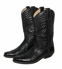 BUFFALO Herren- Western- Stiefel / Cowboy- Boots / Lederstiefel schwarz Gr. 43