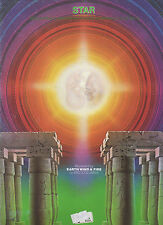 Earth, Wind & Fire sheet music Star 1979 5 pages (VG+ shape)