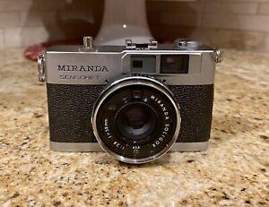 Vintage Miranda Sensoret Film Camera