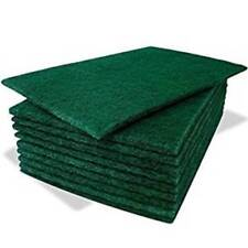 More details for pack of 20 heavy duty professional green scourer pads (6'' x 9'')