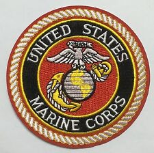 UNITED STATES USMC MARINE CORPS BADGE PATCH-1235