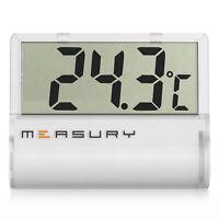 Measury Aquarium Thermometer Digital zum Kleben, Aquarien Aquarienthermometer