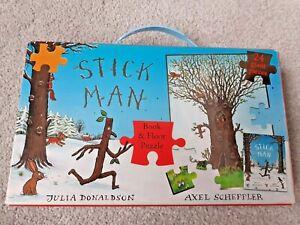 Julia Donaldson Stickman 24 Piece Large Floor Jigsaw Puzzle. Axel Scheffler