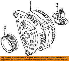 VW VOLKSWAGEN OEM 98-04 Beetle-Alternator 038903018PX
