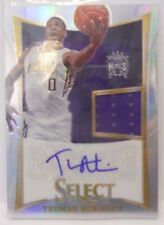 2012-13 Panini Select Thomas Robinson SP Prizm Jersey Autograph Rookie #/199