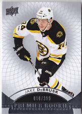 17-18 UD Premier Jake DeBrusk /399 Rookie Bruins RC 2017