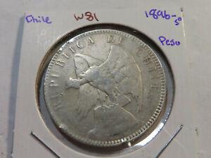 W81 Chile 1896-So Peso