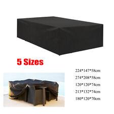 Jardín patio muebles conjunto cubierta cubierta impermeable mesa cubierta