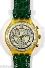 SWATCH original Swiss made CHRONO SCJ400 quartz watch New old stock