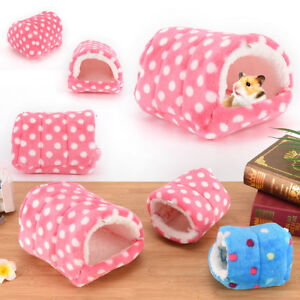 small animal bed cave warm cute nest for hamster guinea pig squirrel hedgehog P4