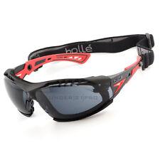 Gafas + equipo máscara RUSHPPSF + RUSHKITFS Bollé Safety Rush+ goggles PLATINO
