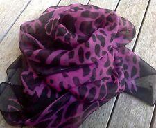 Womens Ladies Fashion Leopard Print Design Celeb Scarf New 170cm in length