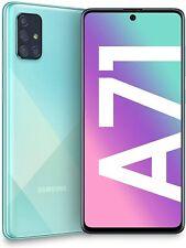 Samsung Galaxy A71 SM-A715F/DS 4G LTE 6GB/128GB, GSM Factory Unlocked, Blue