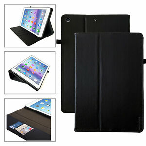 Leder Tablet Cover für alle Apple iPad Modelle Stand Case Schutzhülle Tasche