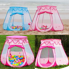 Pop Up Kids Play Tent Hexagon Indoor Outdoor Park Beach Children Fairy Playhouse