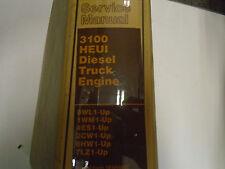 Caterpillar 3100 HEUI Diesel Truck Engine Service Manual Factory OEM Book Used