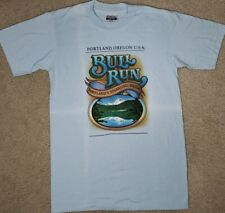Vintage Tshirt Portland Oregon Bull Run Sparkling Water Hanes 50/50 Small