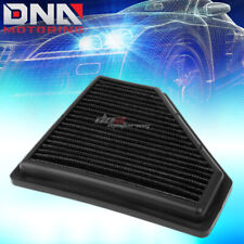 FOR 08-11 FORD FOCUS 2.0L BLACK REPLACEMENT RACING DROP IN AIR FILTER PANEL