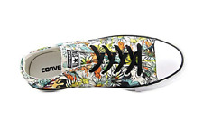 WOMENS CONVERSE ALL STAR FLORAL LACE UP PLATFORM LOW TOP SHOES SZ 6