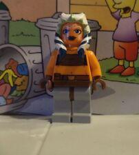 Star Wars lego mini figure AHSOKA TANO 7675 7680 7751 8037 8098
