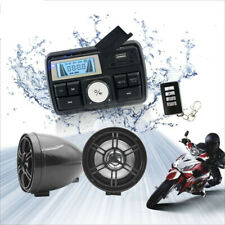 Motorcycle Bluetooth Audio System USB SD FM Radio Stereo Speaker MP3 Anti-thelf