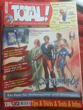 Total! Magazin Ausgabe 9/1999 Nintendo Pokemon OgreBattle 64 inkl. Poster