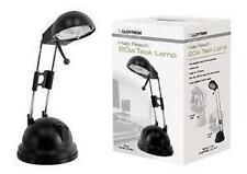 Lloytron L1101 20w Halo Reach Adjustable Height Task Desk Lamp G4 Halogen Black