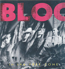 Bloc - In The Free Zone (CD 1991)  US-Rock with female Front  !