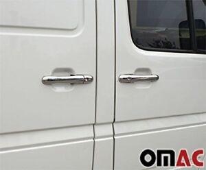 Mb For Dodge Sprinter W901 1995-2006 Chrome Door Handle Cover Steel 8Pcs. 4 Door