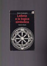 Massimo Mugnai , Leibniz e la logica simbolica,Sansoni  Firenze 1973 R