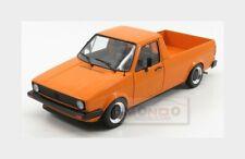 Volkswagen Caddy Pick-Up Mki 1982 Orange SOLIDO 1:18 SL1803502 Model