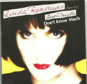 "Linda Ronstadt ft Aaron Neville - Don't Know Much (3"" CD Single 1989)"