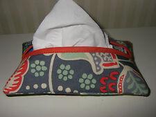 Tissue Holder Made w/ Vera Bradley Nomadic Floral Garden Fabric Great Gift