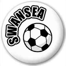 Swansea Fc Football Supporter 25Mm Pin Button Badge Lapel Pin