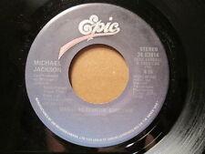 MICHAEL JACKSON - Wanna Be Startin' Something   EPIC 45rpm   CANADA Pressing
