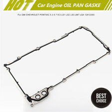 New Excellent Sealing Car Engine OIL PAN GASKE for GM CHEVROLET PONTIAC 12612350