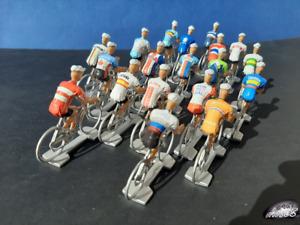 19 cyclistes miniatures Equipes nationales 2021 - Tour de France - Alaphilippe