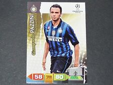 PAZZINI INTER MILAN UEFA PANINI CARD FOOTBALL CHAMPIONS LEAGUE 2011 2012