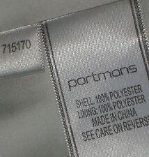 PORTMANS SheerWhiteStraplessFlaredPartyMini Sz8