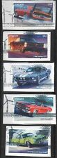 US Scott 4743-47 MUSCLE CARS USED FOREVER STAMPS ON PAPER SOLAR WINDMILLS CANCEL