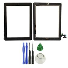 Glass Touch Screen Digitizer Home Button Assembly for iPad 2 Black Tools