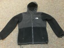The North Face Fleece Hooded Black Women's Jacket Size Small Petite