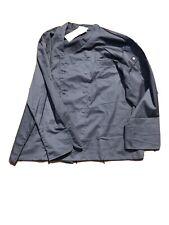 New listing Chef Works Hartford Chef Coat - Navy Blue Size 3xl
